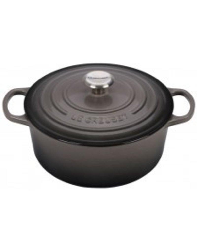Le Creuset Enameled Cast Iron Signature Round Dutch Oven 5.5qt Oyster ciw