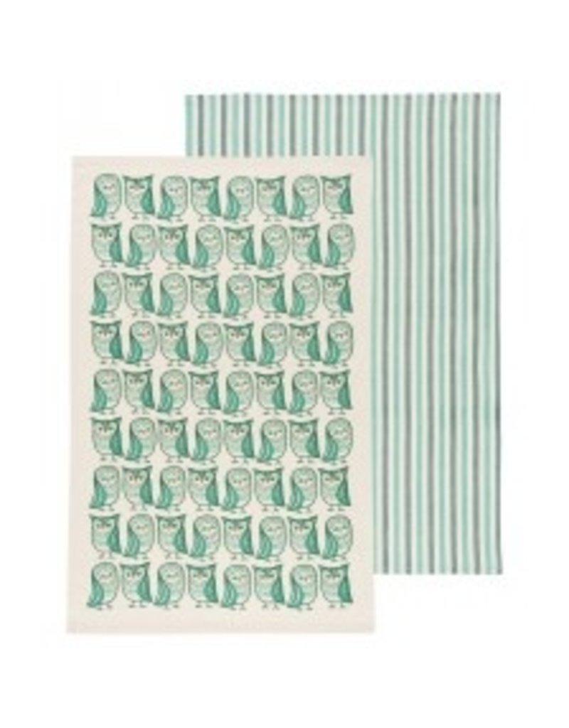 Now Designs Dish towel Hootenanny Set of 2