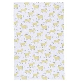 Now Designs Dish towel Goats