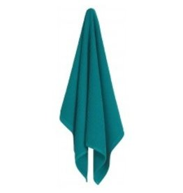 Now Designs Ripple Kitchen Towel, Peacock cir