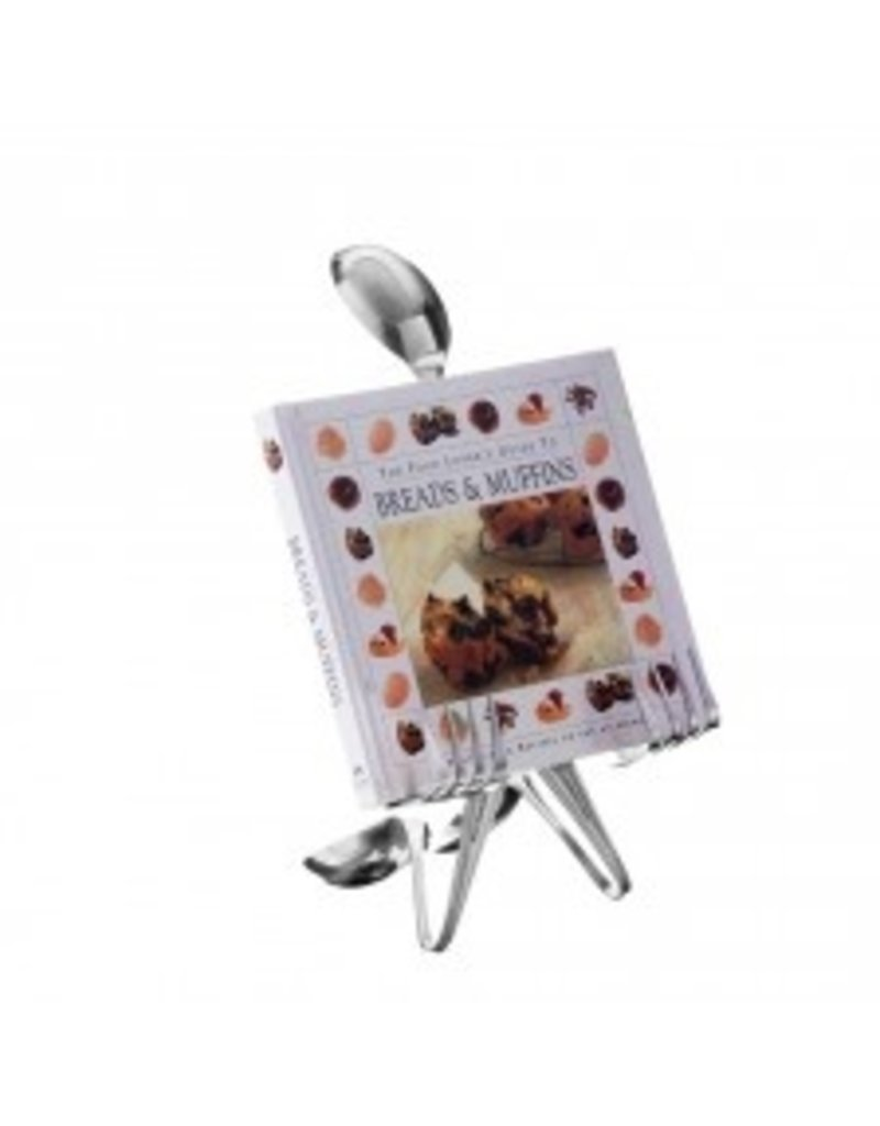 Cookbook Stand/Holder, Spoon Person