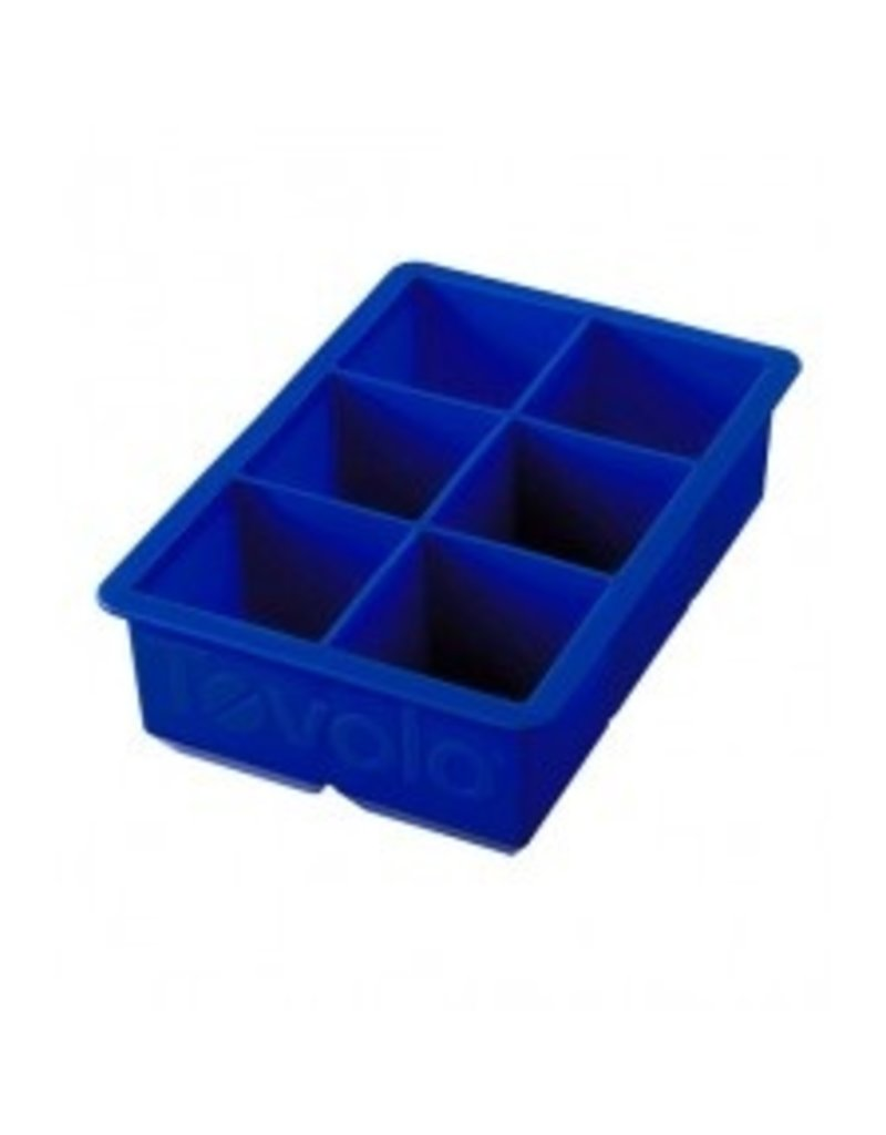 Tovolo King Ice Cube, Stratus Cobalt Blue cirr