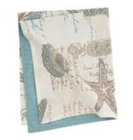 C and F Home Napkin Amber Sands, Reversible