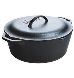 Lodge Cast Iron Dutch Oven 7Qt, Preseasoned cir