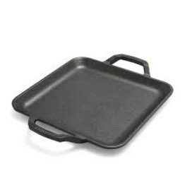 Lodge Cast Iron Chef Collection, Square Griddle 11'', Preseasoned DISC