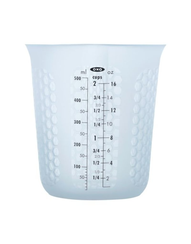 OXO Good Grips 2 CUP SQUEEZE & POUR SILICONE MEASURING CUP