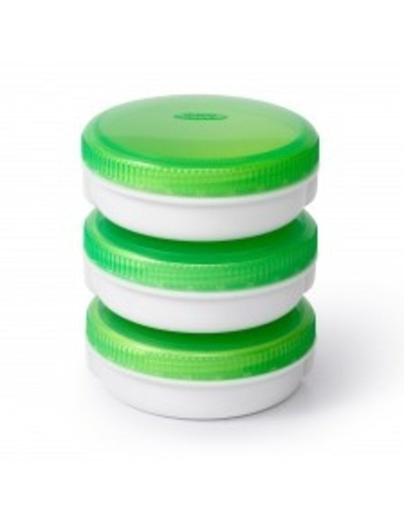 OXO Good Grips On The Go Condiment Keeper 2oz Set of 3