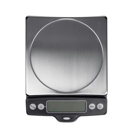OXO Good Grips 11lb Food Scale stainless ciw