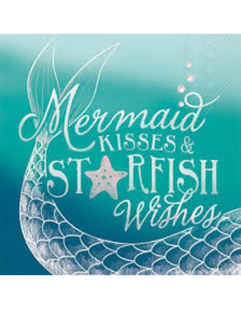 Boston International Cocktail Napkin, Mermaid Kisses DISC