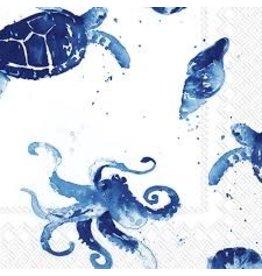 Boston International Cocktail Napkins, Under the Sea, 20x