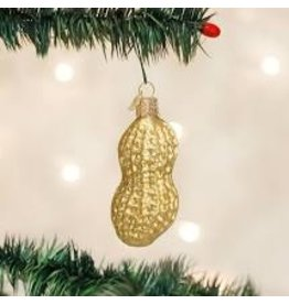Old World Christmas Peanut Ornament disc