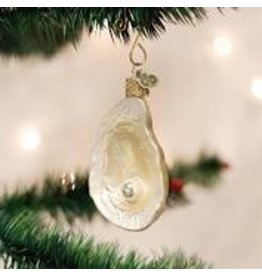 Old World Christmas Oyster with Pearl Ornament