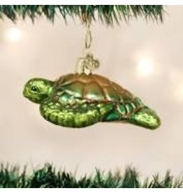 Old World Christmas Sea Turtle Ornament