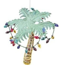 C and F Home Ornament Palm with Lights