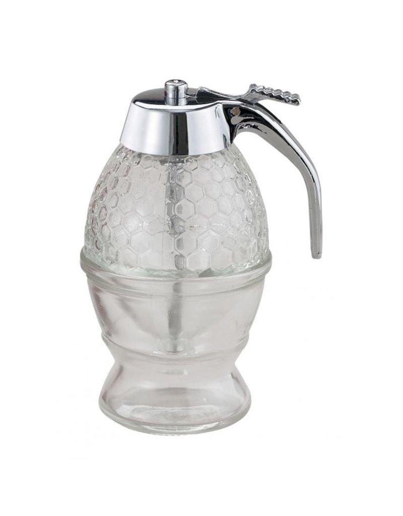 Harold Imports Mrs Anderson Honey/Syrup Dispenser, Glass, 8oz