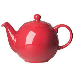 Now Designs Teapot, Red Globe 6 Cup
