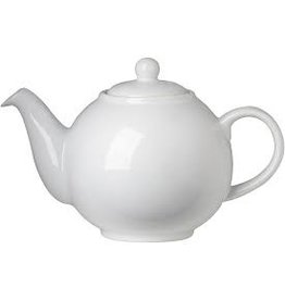 Now Designs Teapot, White Globe 6 Cup