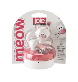 Harold Imports Joie Meow Timer WHITE