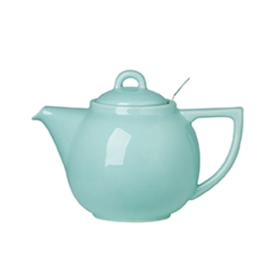 Now Designs Teapot with Filter, Aqua Geo 2 Cup