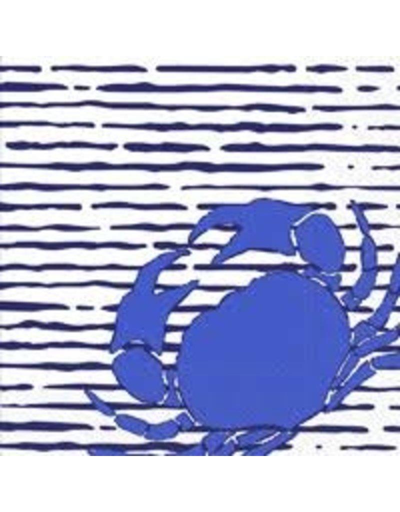 Boston International Cocktail Napkin, Waterline Crab