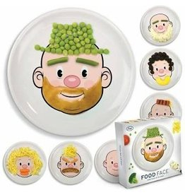 Fred Mr Food Face Child Plate