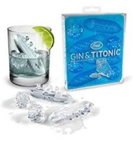 Fred Gin and Titonic Ice Molds