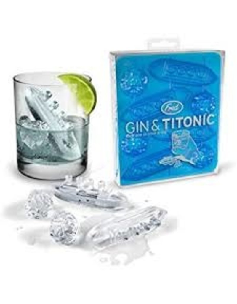 Fred/Lifetime Gin and Titonic Ice Molds