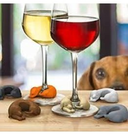 Fred Winer Dogs Wine Markers Set of 6