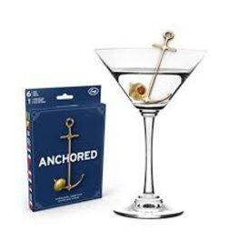 Fred/Lifetime Anchor Cocktail Picks Set of 6