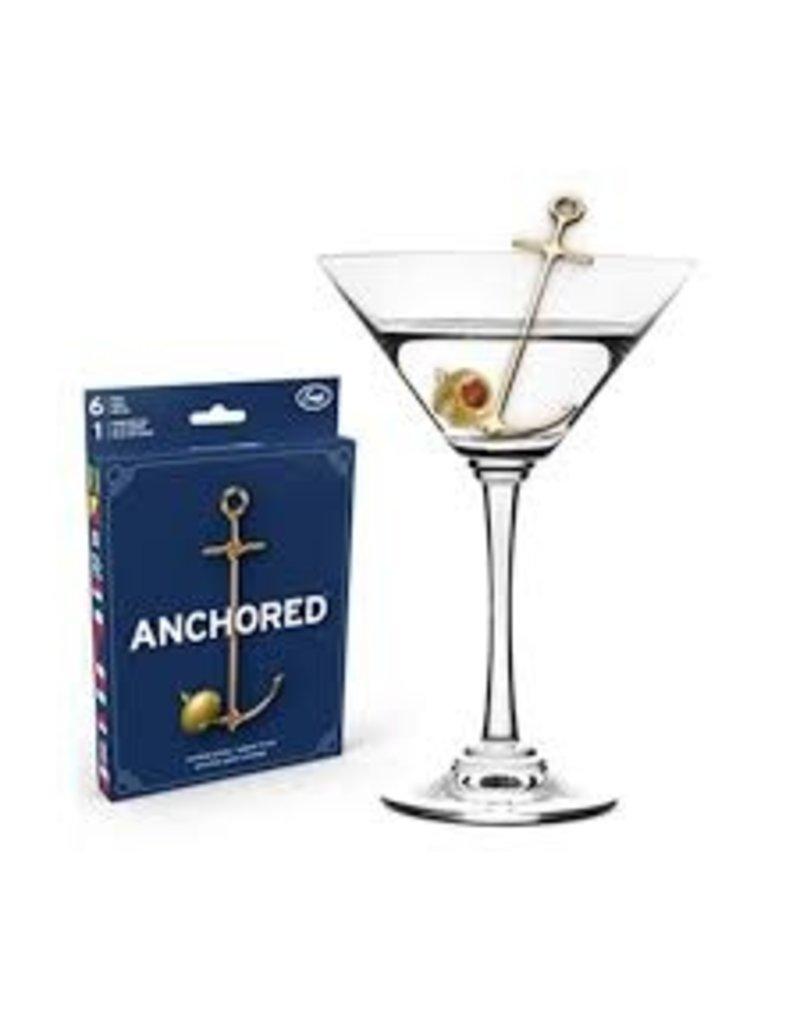 Fred/Lifetime Anchor Cocktail Picks Set of 6