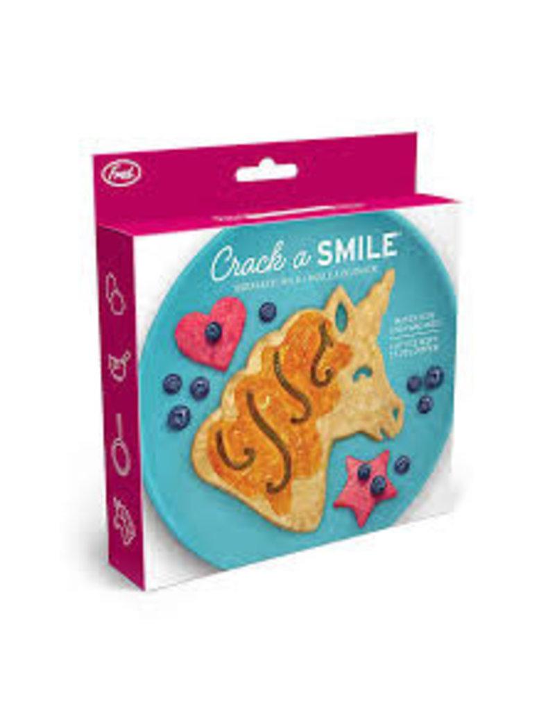 Fred/Lifetime Crack a Smile Unicorn Breakfast Pancake Mold