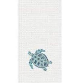 C and F Home Towel Sea Turtle, waffle weave