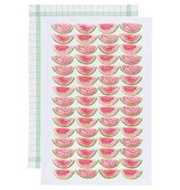 Now Designs Dish towel Watermelon Set of 2