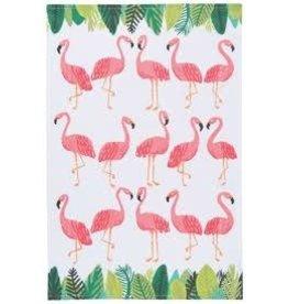 Now Designs Dishtowel Flamingos