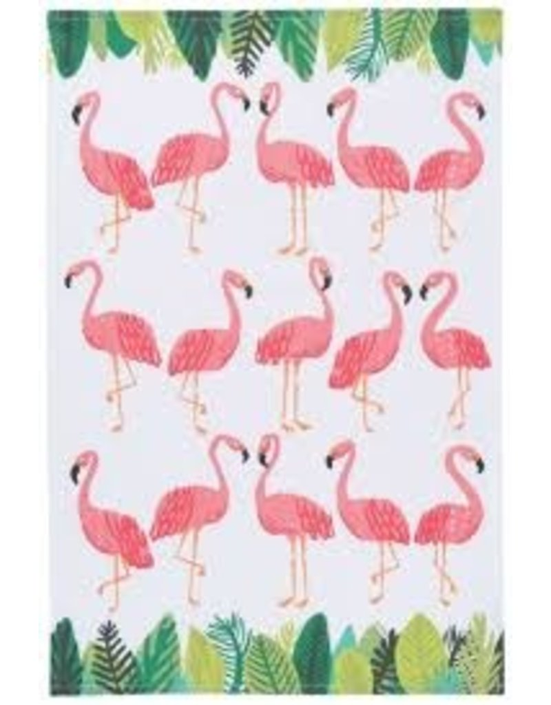 Now Designs Dish towel Flamingos