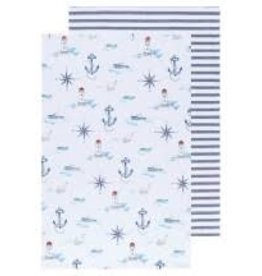 Now Designs Dish towel Compass Set of 2