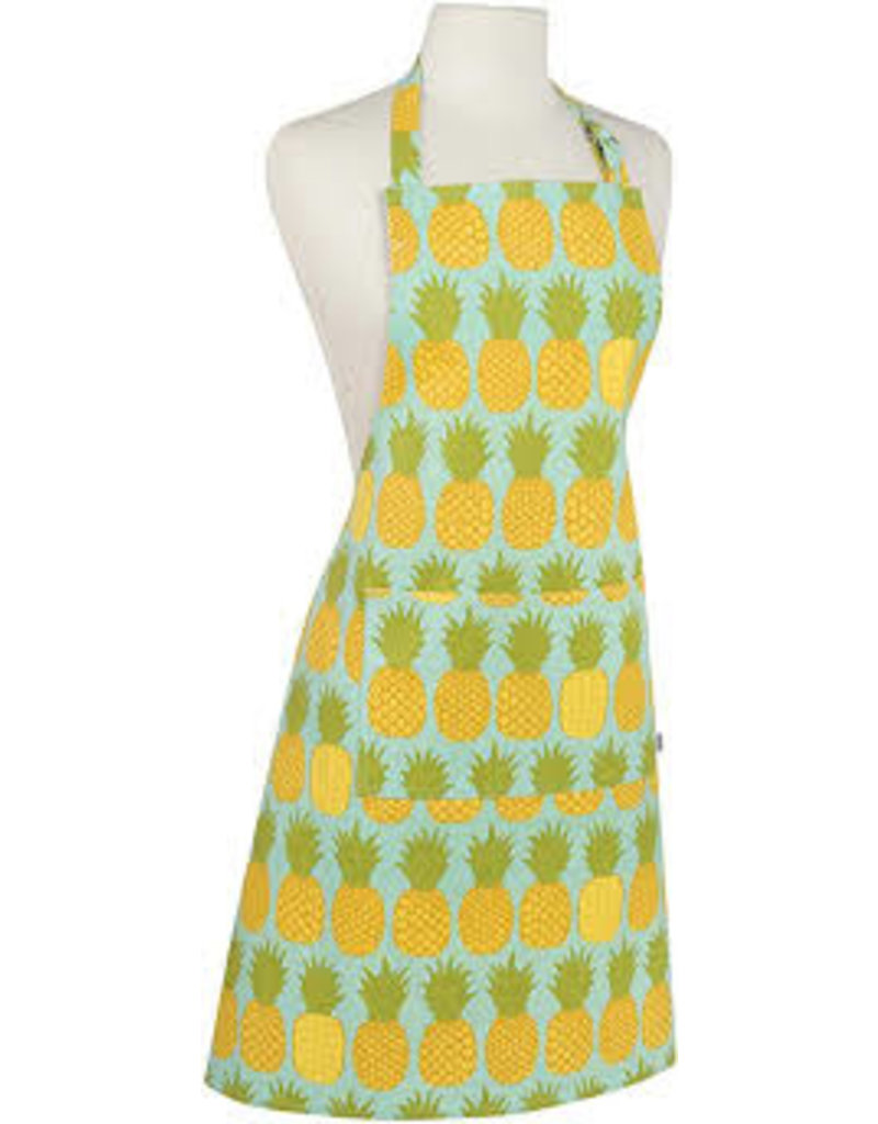 Now Designs Apron Adult Pineapples