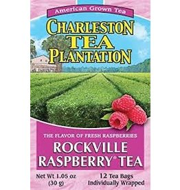 Charleston Tea Plantation Rockville Raspberry Tea 1.05oz - 12 Teabags
