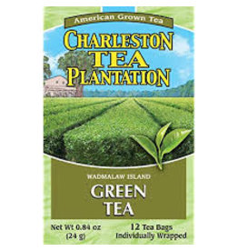 Charleston Tea Plantation Green Tea .81oz - 12 Teabags