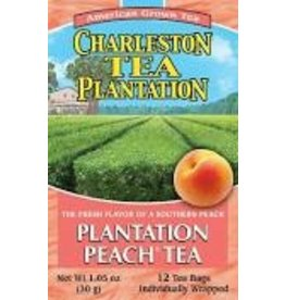 Charleston Tea Plantation Plantation Peach Tea 1.02oz - 12 Teabags