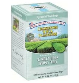 Charleston Tea Plantation Carolina Mint Tea 1.02oz - 12 Teabags