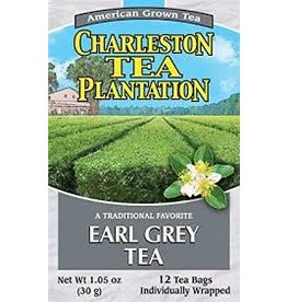 Charleston Tea Plantation Earl Grey Tea 1.05oz - 12 Teabags