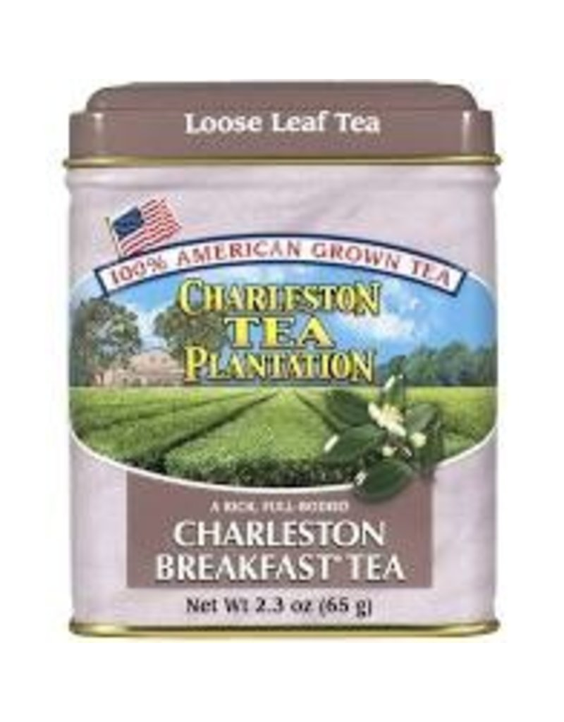Charleston Tea Plantation Charleston Breakfast Tea 2.3oz - Loose Leaf Tin disc