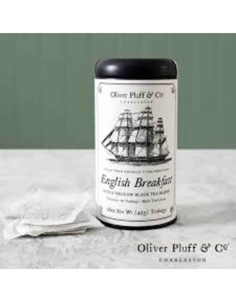 Oliver Pluff Tea - English Breakfast -20 bags 1.6oz