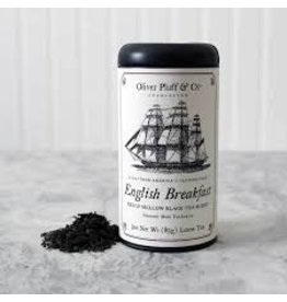 Oliver Pluff Tea - English Breakfast - LOOSE TEA 3oz