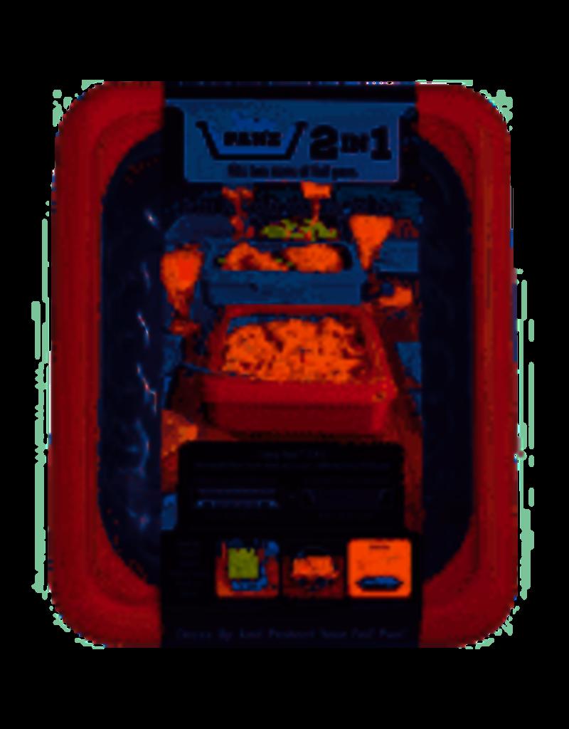 Fancy Panz Portable Casserole Carrier, Red