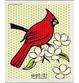 Wet-It Swedish Dish Cardinal