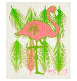 Wet-It Swedish Dish Flamingo