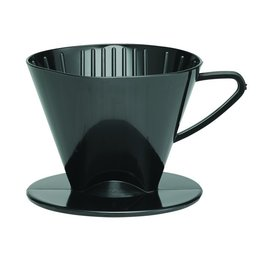 Harold Imports Plastic Coffee Filter Cone Black #2