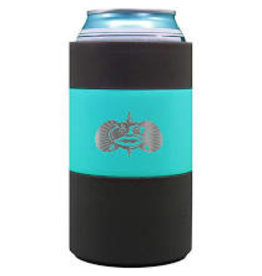 Toadfish Non-Tipping Can Cooler/Koozie, teal